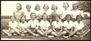 1939-1940 Uhland Girls Basketball