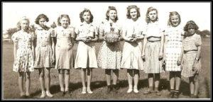 1941-1942 Uhland Girls Basketball