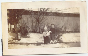 Diane Fuchs and Gary Germer 1945