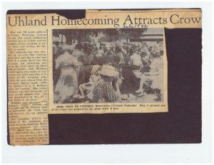 Uhland Homecoming